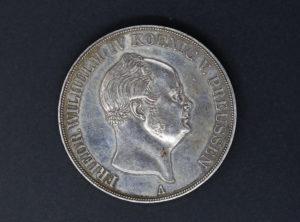 Allemagne – Preussen – 1855 – 2 Thaler – 5 Mark – Fried. Wilhelm IV