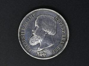 Brasil – 1888 – 2000 Reis – Petrus II