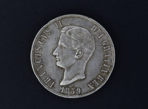 Italie – 120g – Franciscus II – 1859 – Royaume des 2 Siciles