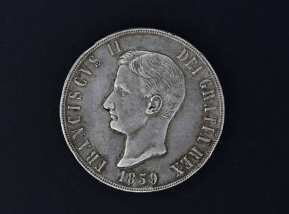 Italie - 120g -1859 - 2 Siciles - Franciscus II -R