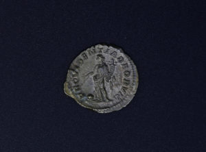 Romaine – Denier – Macrin – 217 -218AD
