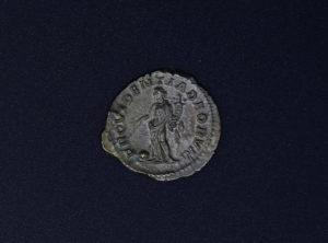 Romaine – Denier – Macrin – 217 -218AD