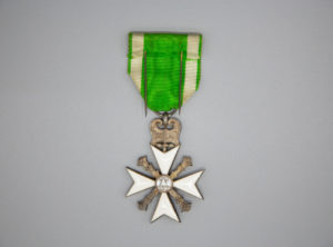 Croix Civique – Garde Civique et Sapeurs-pompiers – 1898