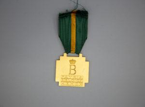 Belgique – Médaille des mérite Sportif – Baudoin – 1ère Classe