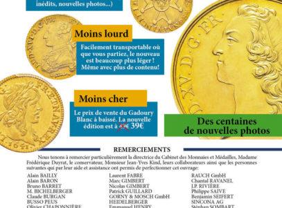 GADOURY Blanc - Monnaies Royales Française - 2018 (6)