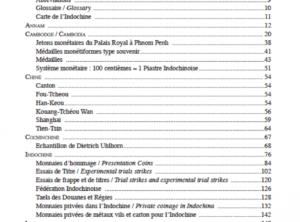 GADOURY – Monnaies et jetons de l'Indochine Française-2014