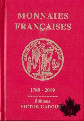 GADOURY – Monnaies Françaises 1789-2019